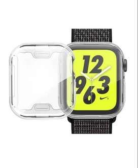 Protector Funda Para Reloj Apple Watch 38 40 42 44 Mm En Silicona