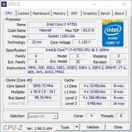 Combo Procesador I7 4770s, Board Gigabyte H81, Factor Micro ATX