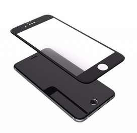 Vidrio protector 3D negro para Iphone 7 Plus y 8 Plus