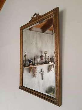 Espejo biselado estilo frances