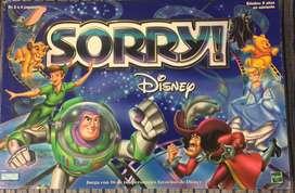 """Jgo de mesa """"Sorry  disney""""para niños mportado  edad de 6 años para delante"""