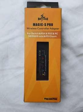 MAGIC-S PRO adapatador de control para ps4,ps3,pc