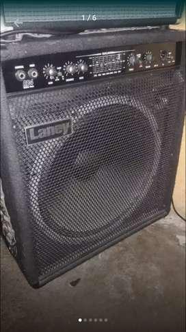 Amplificador de bajo laney 165 watts remato 950