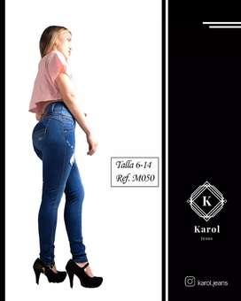 Pantalones para dama levanta cola