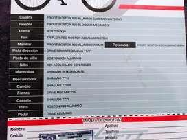 Vendo bicicletas todo terreno hombre y mujer