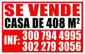 CASA EN VENTA EN LA CALLE PRINCIPAL DEL BARRIO LA PAZ CR 13