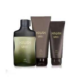 Kit kaiak urbe + shampoo+ gel de baño by Natura