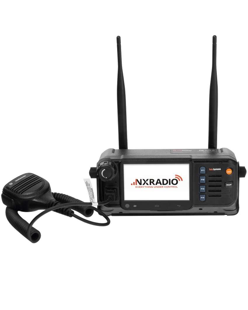 Radio PoC Móvil TELO SYSTEMS M5 4G LTE, Compatible con NXRadio, Pantalla Táctil