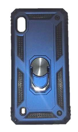 Estuche Antigolpes Samsung Galaxy A10 Lujo Anillo 360 Grados