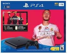 Vendo Play Station 4 1TB Slim Bundle FIFA20