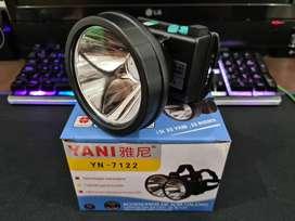 Linterna Yani 7122 Recargable Minera Original Sin Sensor