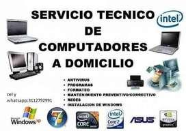 Mantenimiento de computadores especializado a domicilio