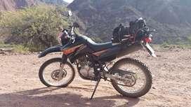 Vendo Yamaha XTZ 250  2015 Muy poco uso