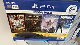 PS4 nueva más juegos