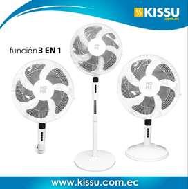 Ventilador Aspas Plásticas Home 3 Funciones En 1 Potente Envio GRATIS a nivel nacional