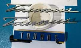 insignias ford taunus años 60