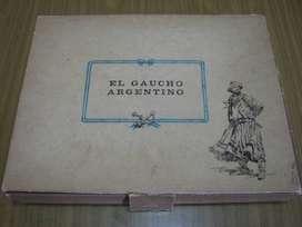 Vendo Caja con 9 Cajas de Fósforos (Vacias) del Gaucho Argentino.
