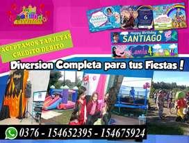 Alquiler decoraciones castillo inflable Fiestas 154675924