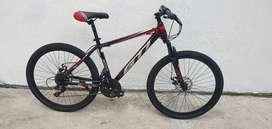 Bicicletas gti aro 26 nueva frenos de discos suspensión delantera componentes shimano