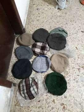Lote de gorras de abrigo