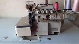 Filetradora Mecatronica Sunsir Con Puntada De Seguridad