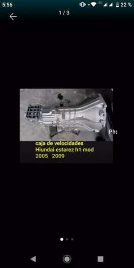 VENDO CAJA DE VELOCIDADES DE HYUNDAI STAREX H1 MODELO 2005-2009