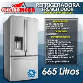 Refrigeradora General Electric Profile French Door 665 Litros Nueva
