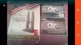 Increíble Rompe cabezas torres Petronas y controles vídeo juegos