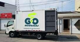 Camión 4 toneladas para mudanzas y fletes