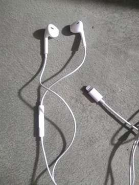 Vendo auriculares para iPhone originales