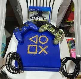 PlayStation 4 slim 1 TB edición especial Blue