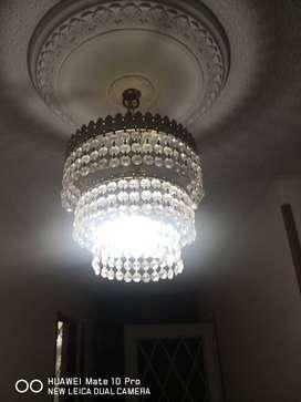 Lámparas en cristal
