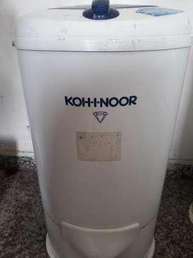 Secarropas Kohinoor 5.2 Kg. Usado Pvc Bl
