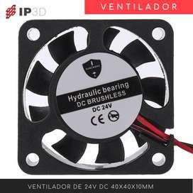 Ventilador 4010 24 V para impresora 3D - Ender 3 - Tronxy
