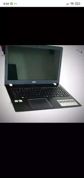Acer aspire  E15, BATERÍA NUEVA, DISCO DURO SSD NUEVO CARGADOR ORIGINAL,. NEGOCIABLE