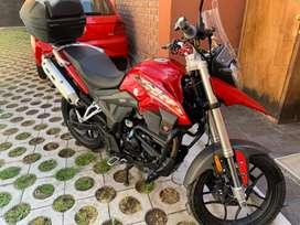 Moto ZONGSHEN 200cc modelo RX1. Todo ok