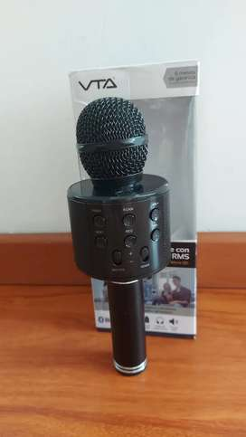 Microfono con bafle