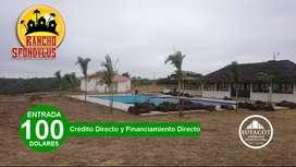 TERRENOS DESDE 1.000M2 PARA SU CASA DE CAMPO CON CRÉDITO DIRECTO /SD3