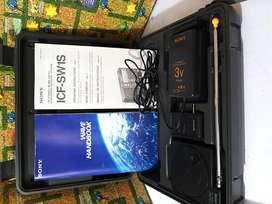 Accesorios Antena y Controlador , Adaptador para Radio Sony ICF-SW1S Usados ( No incluye radio) en su Maleta)