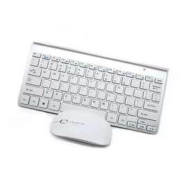 Combo mini teclado y mouse inalámbricos KM908