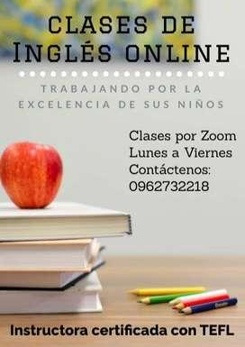 Clases/Tutorías de Inglés