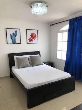 Habitaciones amobladas con aire acondicionado en Barranquilla
