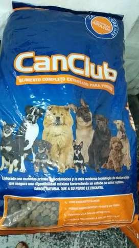 Canclub alimento x22kg