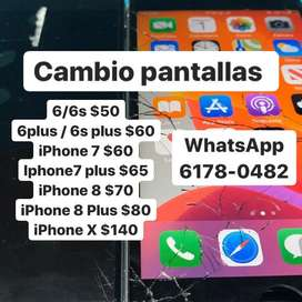 Pantallas iphone
