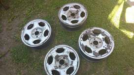Llantas Ford Ecosport Originales 4 unidades