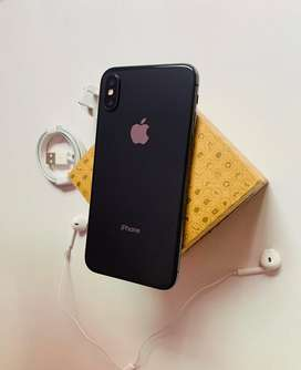 Iphone x space gray 64gb 10/10