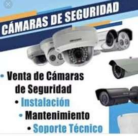 INSTALACIÓN DE CAMARAS DE VIDEOVIGILANCIA DE LA MEJOR CALIDAD!!