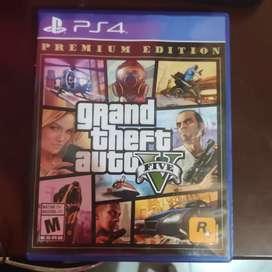 Vendo Gta V PS4