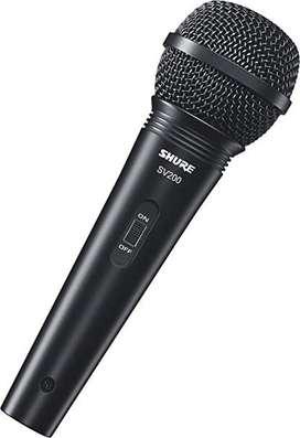 Microfono Dinamico sv200