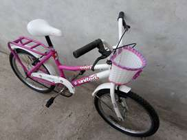 Bicicleta niña rod 20 tomaselli
